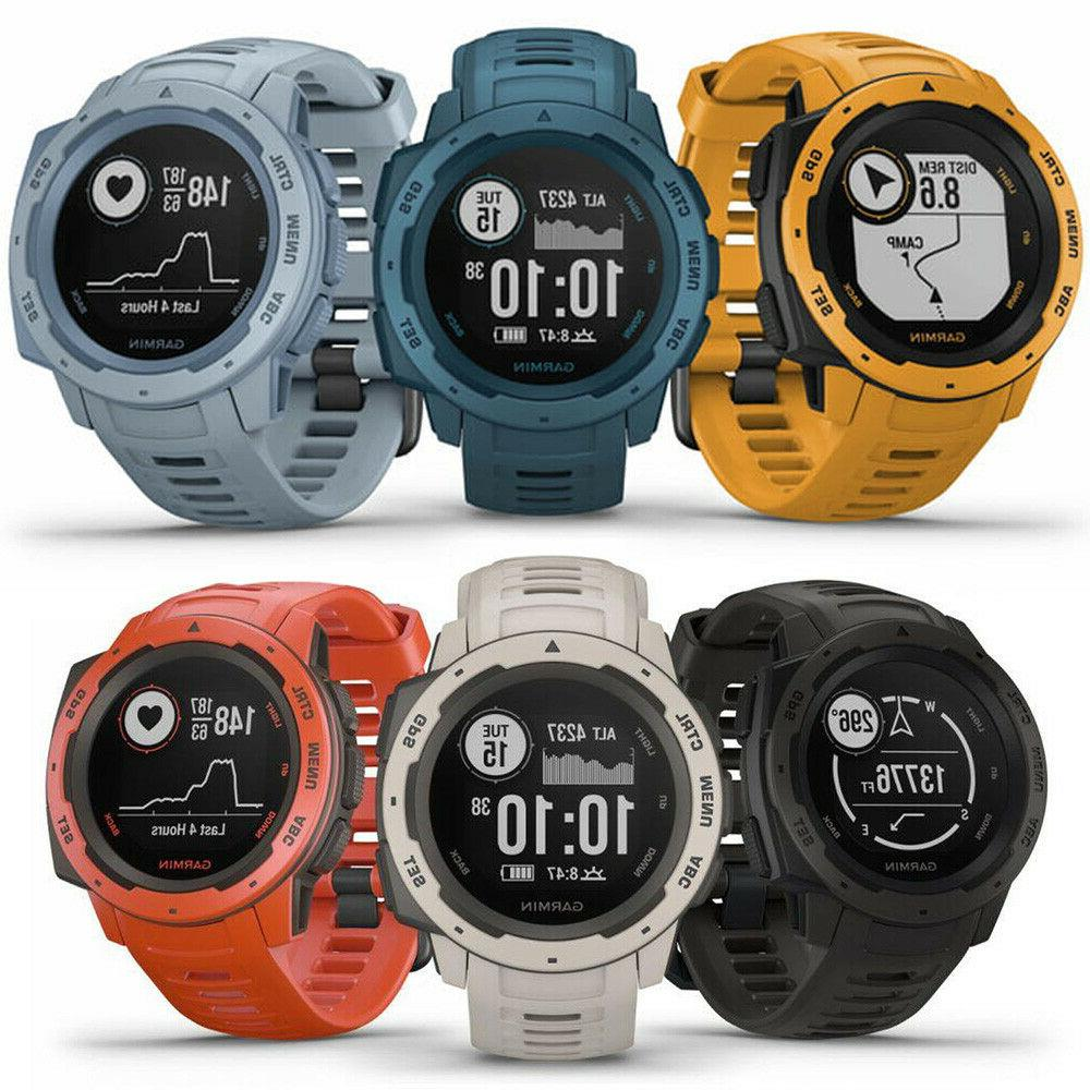 instinct rugged outdoor gps watch choose your