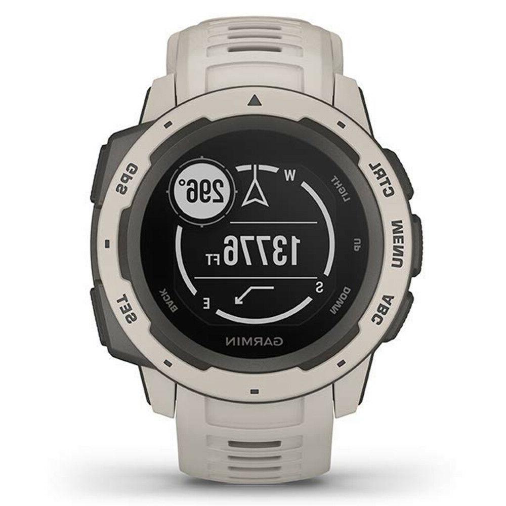 Garmin Instinct Rugged GPS Watch - Tundra