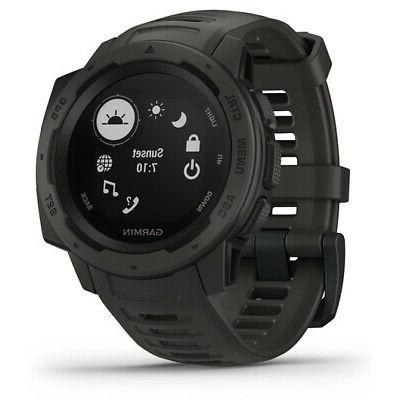 Garmin Watch with GPS, and Heart Rate Monitoring, Graphi