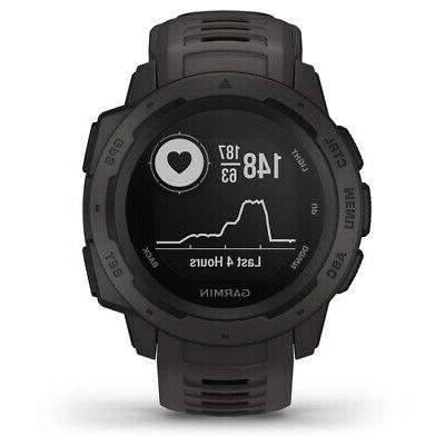 Garmin Watch with GPS, Heart Rate