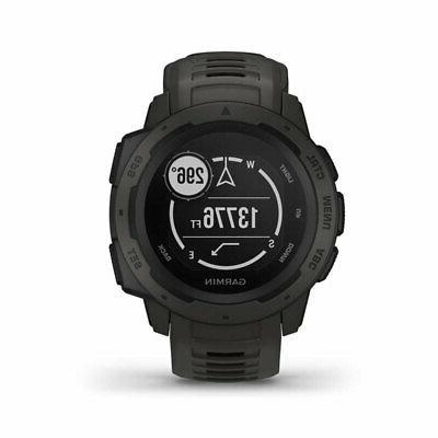 Garmin Instinct Watch with Heart Monitoring,