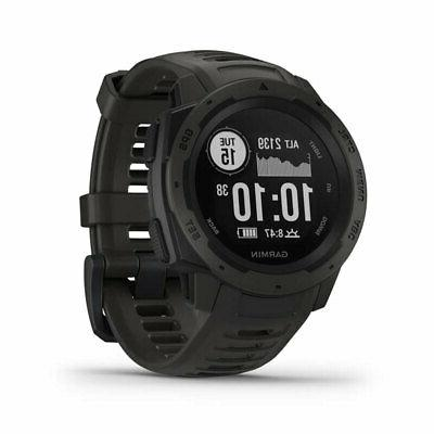 instinct rugged outdoor watch with gps