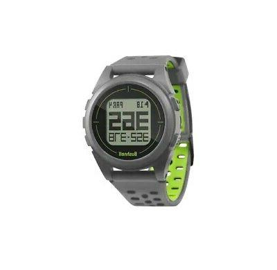ion 2 golf gps watch silver green
