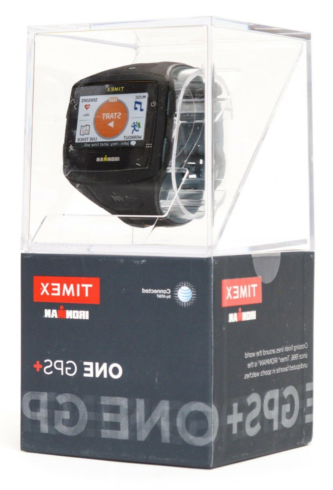 ironman one gps black gray