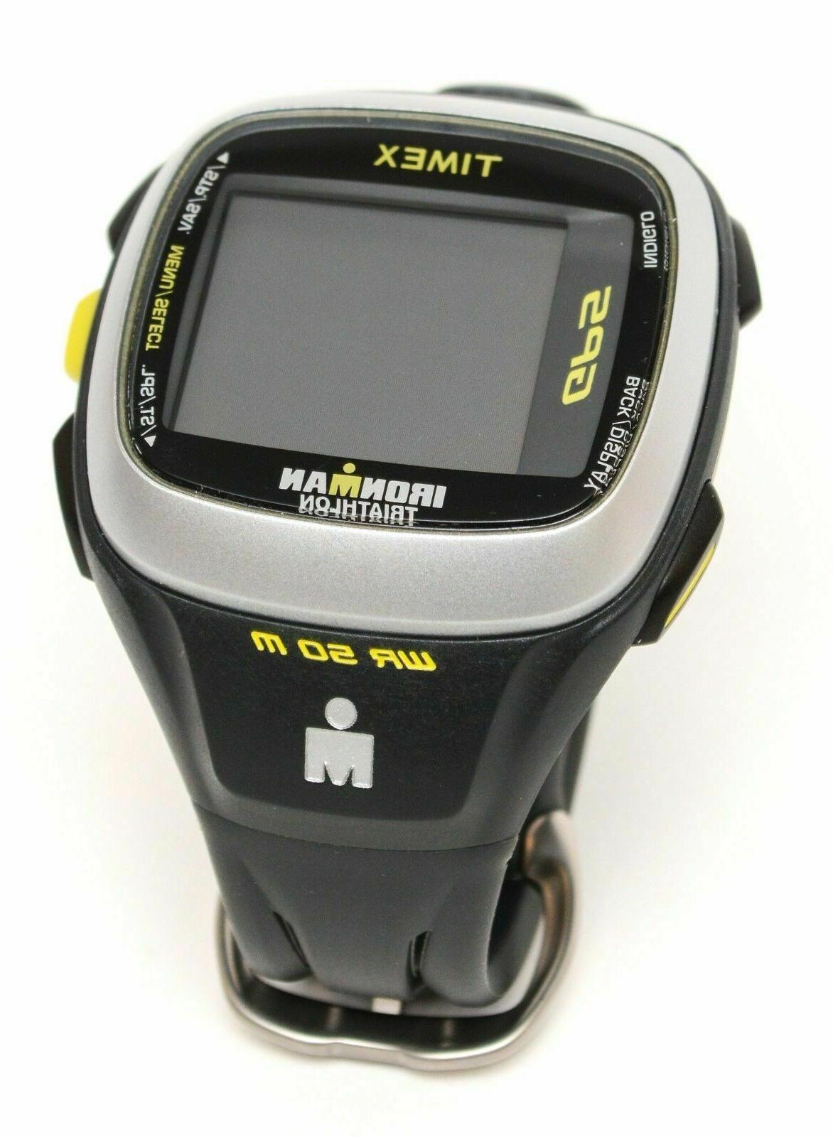 Timex Ironman Run Trainer 2.0 GPS Watch Speed+Distance Heart