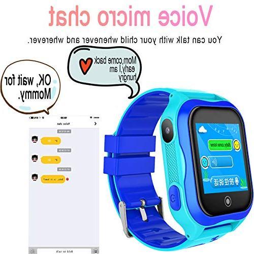 Kid GPS Tracker WiFi Smartwatch Year Boy Game Smart SOS Anti-Lost
