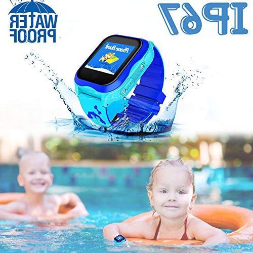 Kid Watch GPS Tracker Locator Smartwatch Holiday Smart Camera Anti-Lost