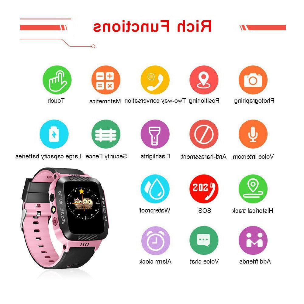 Kids Anti-lost Tracker Smart Safe Wristwatch