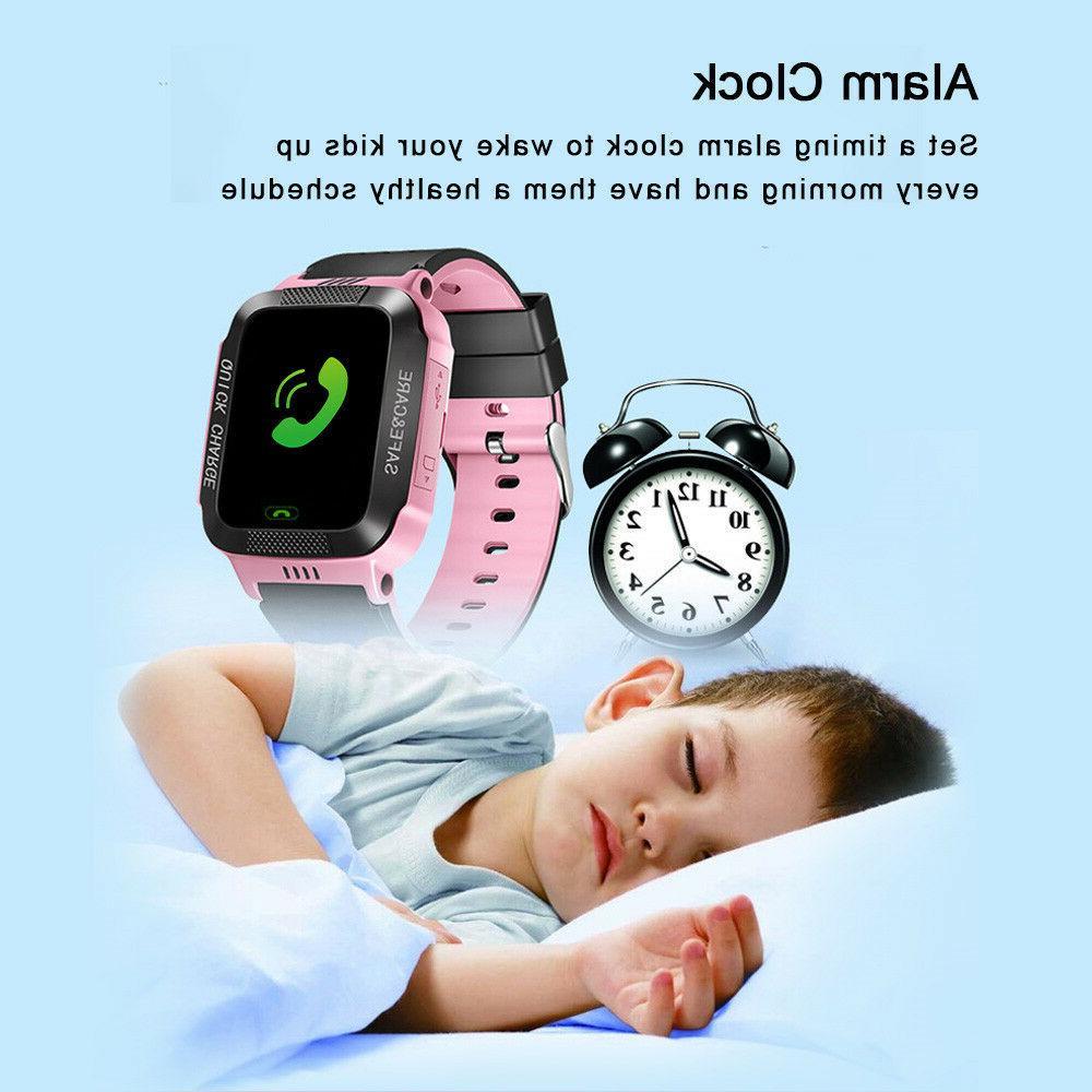 Kids Smart Watch SOS Call Safe
