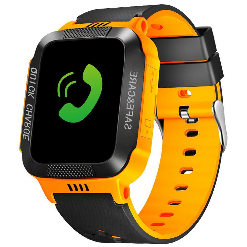kids anti lost gps tracker smart watch