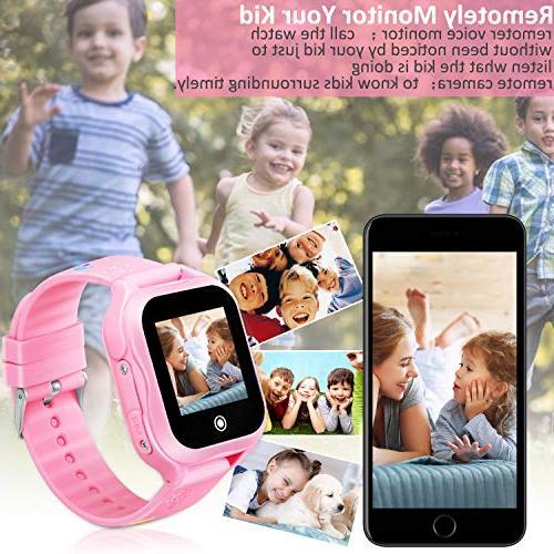 Kids GPS 1.44inch Touch Waterproof SOS Phone