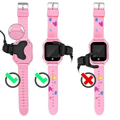 Kids Watch, GPS 1.44inch Touch Camera Waterproof SOS Phone