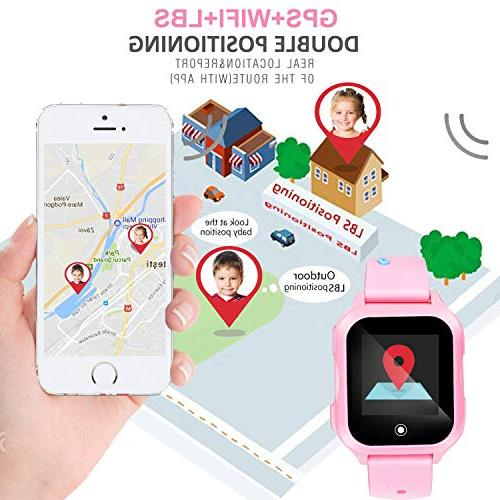 Kids GPS for 1.44inch Touch Screen Waterproof Phone Watch