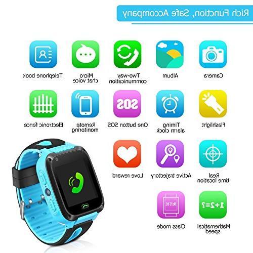 Kids Smart Watch Phone - GPS Tracker