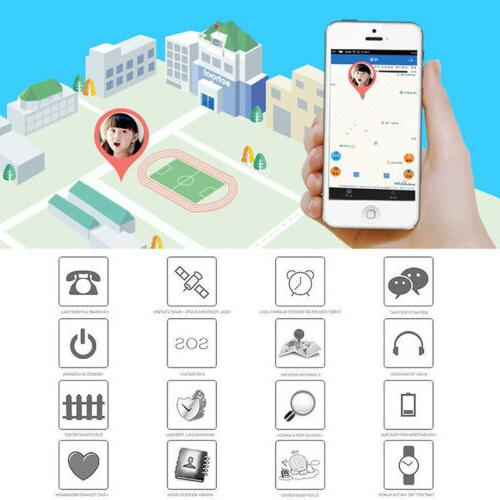 Kids Smart Phone Touch GPS GSM SIM iPhone Samsung
