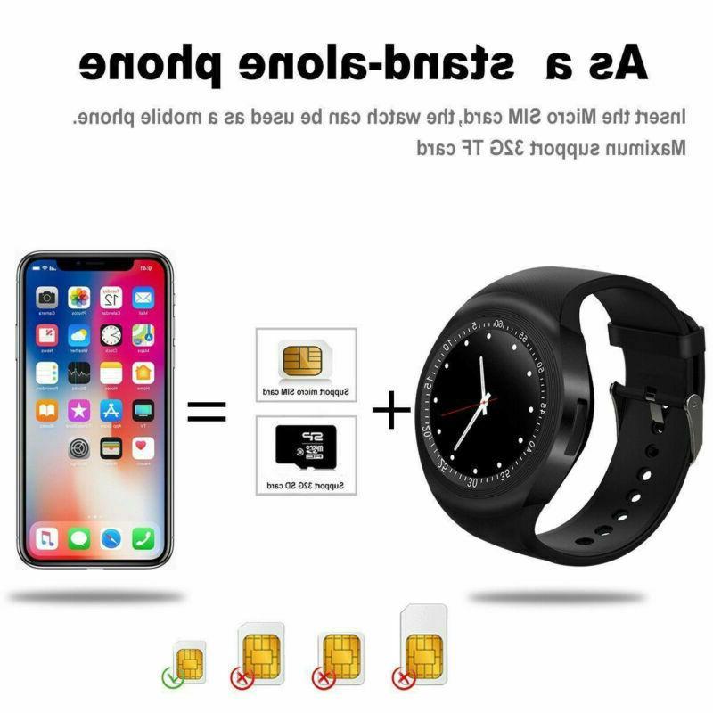 Kids Smart Watch Touch GPS Location SIM iPhone Samsung