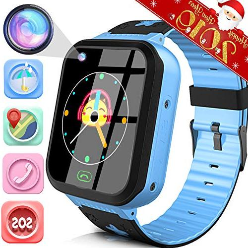 kids smart watch phone with gps tracker