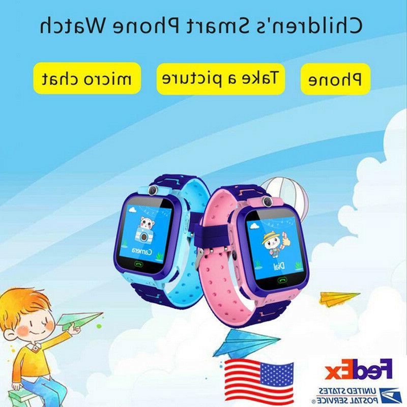 kids smart watch wrist fashion new gps