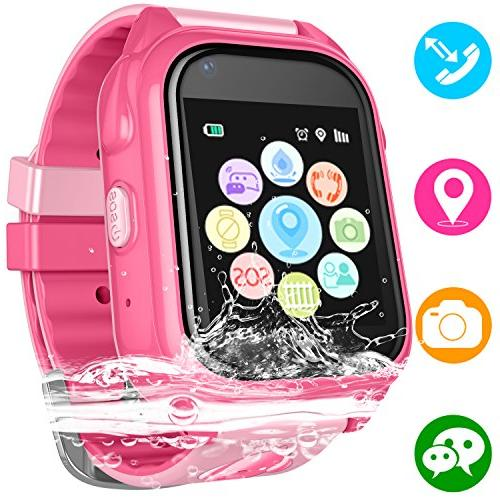 kids waterproof smart watch phone children water