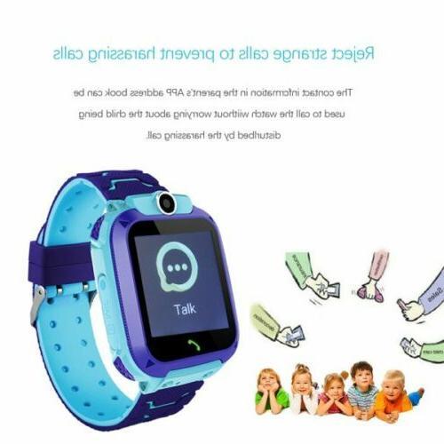 Kids Phone LBS/GPS Tracker Touchscreen Games Camera Alarm