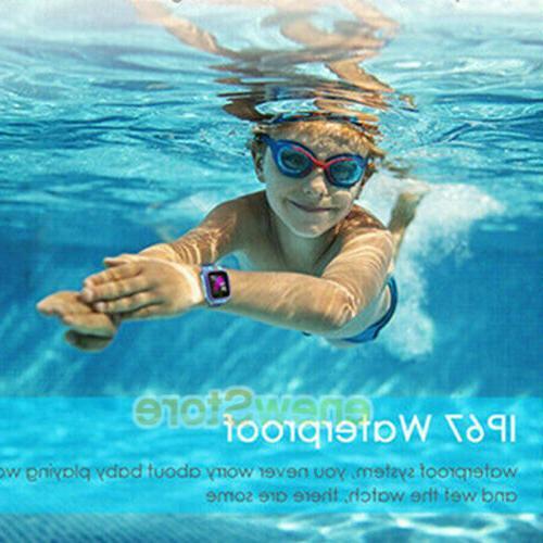Kids Waterproof Phone LBS/GPS Tracker Games Camera