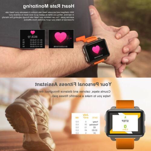Lemfo LEM4 2019 Man Smart Watch SIM Big Screen Camera New