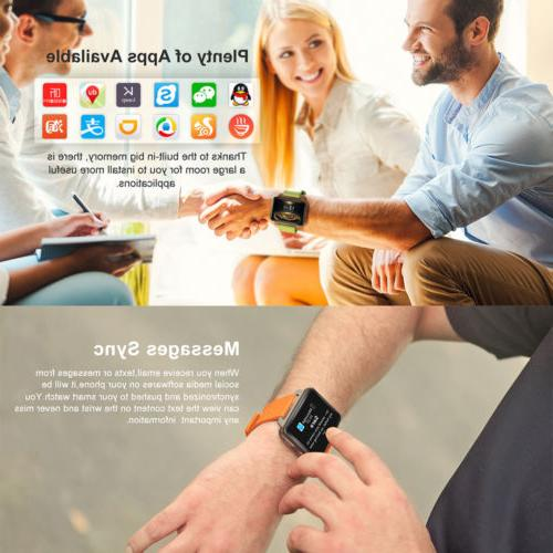 Lemfo LEM4 Man Smart Watch SIM Big Screen
