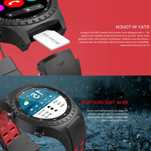 LEMFO Watch Phone Bluetooth Call Android iOS