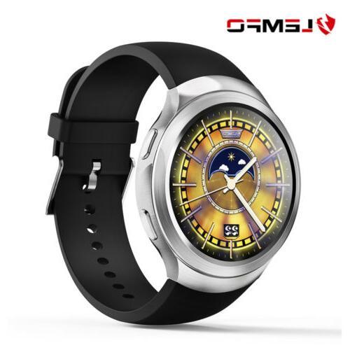 LEMFO LES2 Bluetooth Smart Watch Phone 3G SIM GPS WiFi Activ