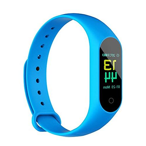 m3 colorful waterproof smart bracelet
