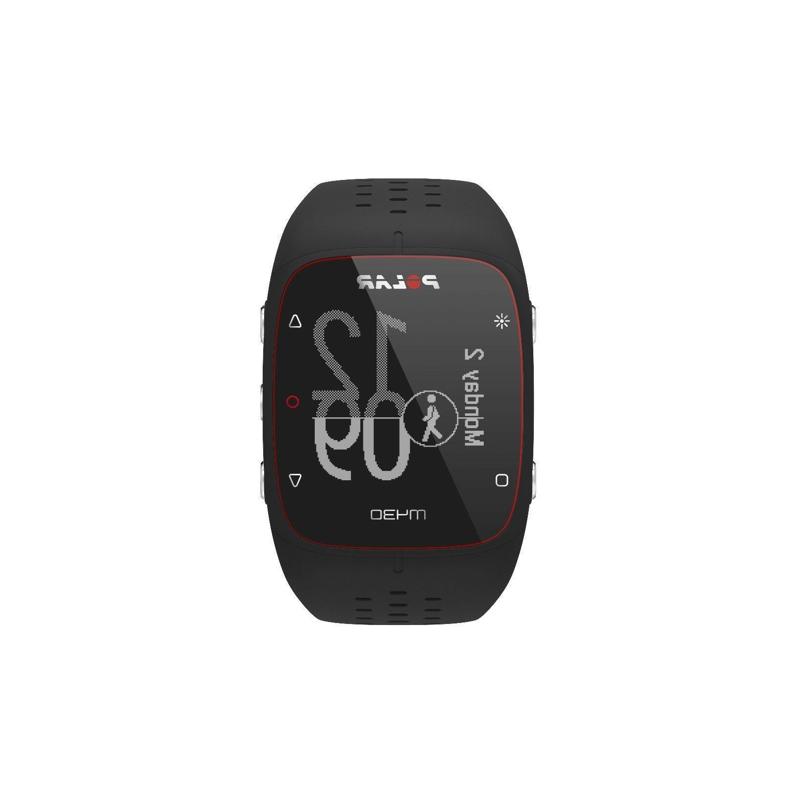 Polar M430 GPS watch heart rate Black