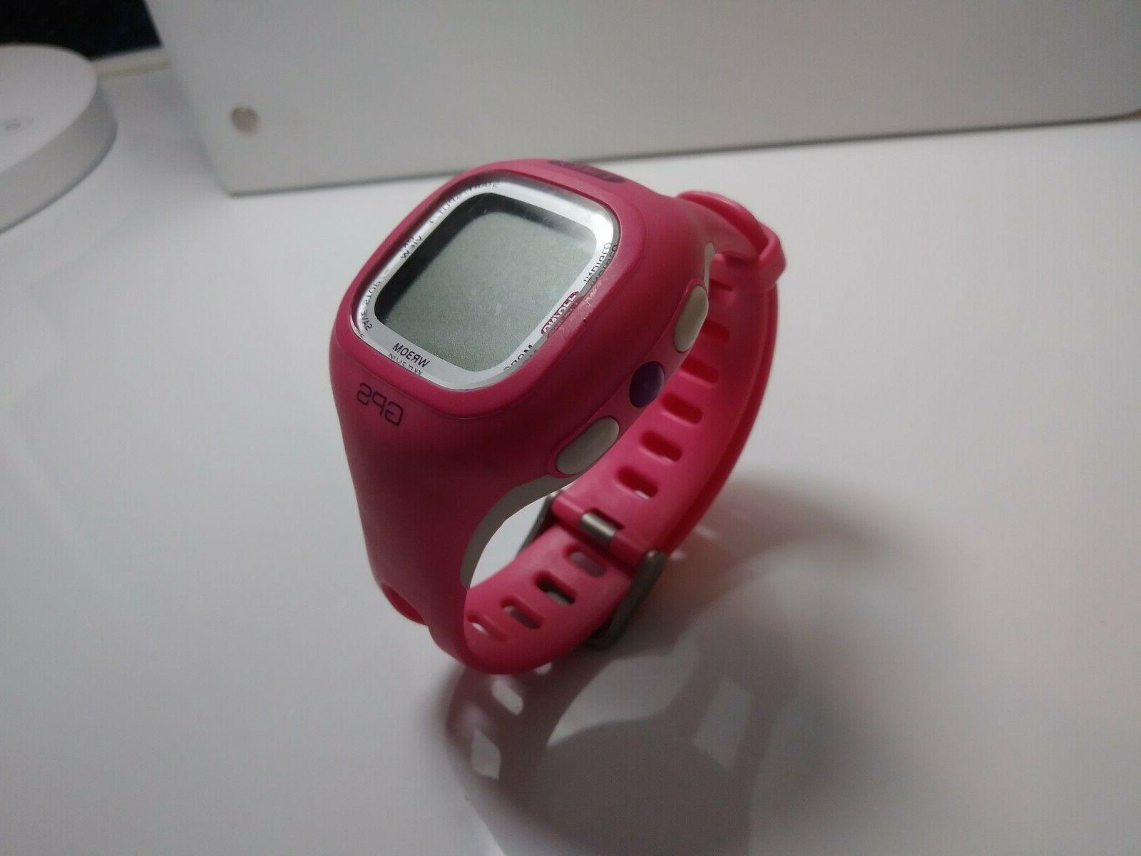 m434 marathon gps fitness watch pink indiglo