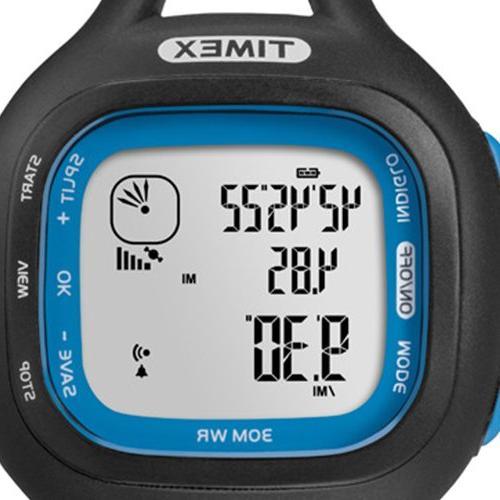 Timex Marathon Blue, Size