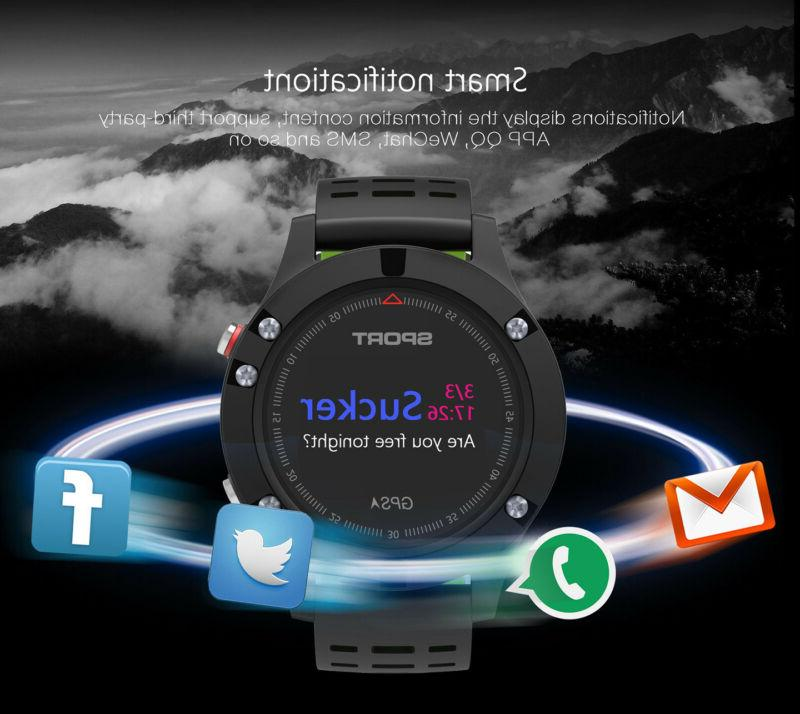 XGODY Sports Watch GPS Tracker Heart Waterproof