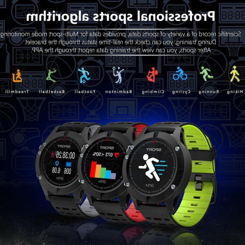 XGODY Men's Sports Smart Watch Tracker Rate IP67 Waterproof