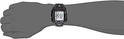 Timex Run Black/Red Strap Watch