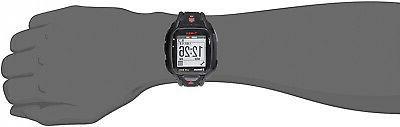 Timex Run Black/Red Strap Watch