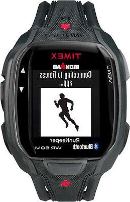 men s tw5k84500 ironman run x50 black