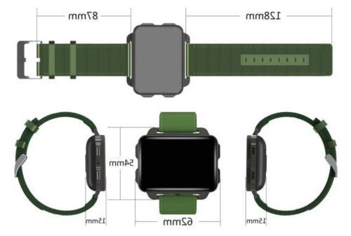 Men Smart Watch GPS Tracker Handsfree Gift
