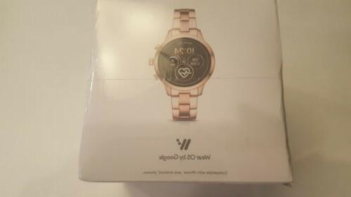 MICHAEL RUNWAY ROSE GOLD TOUCH SMART WATCH SEALED