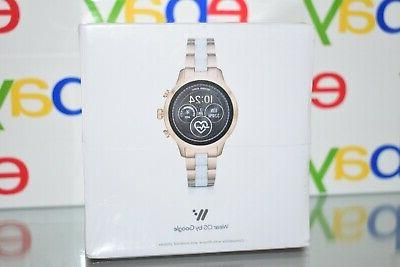 Michael MKT5057 Womens Runway Gold Touchscreen Smart Watch