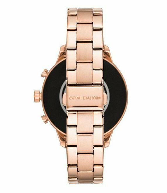 Michael Kors Access Women's Runway Gold Stainless Watch
