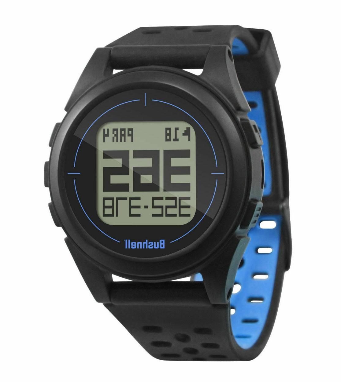 Bushnell Neo iON 2 Golf GPS Watch | Black/Blue