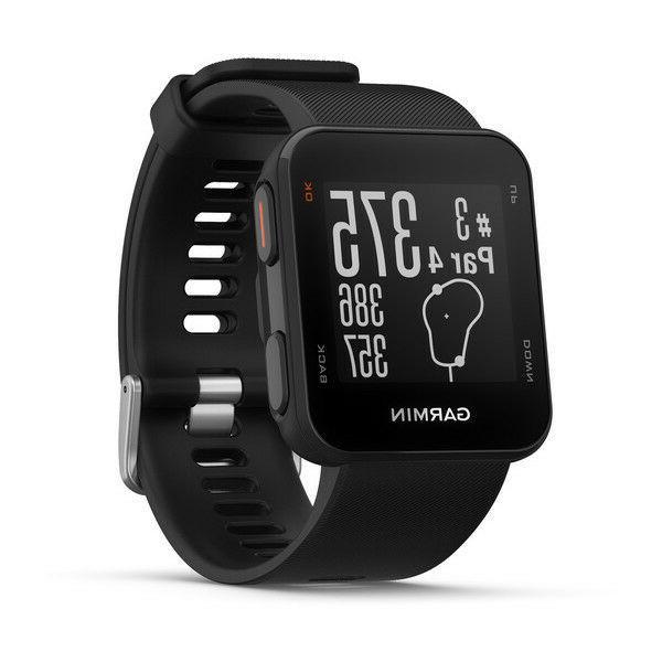 New S10 GPS Golf Watch - Pick Blue,