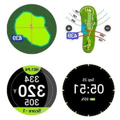 NEW Golf AIM W10 GPS Touch Screen W/