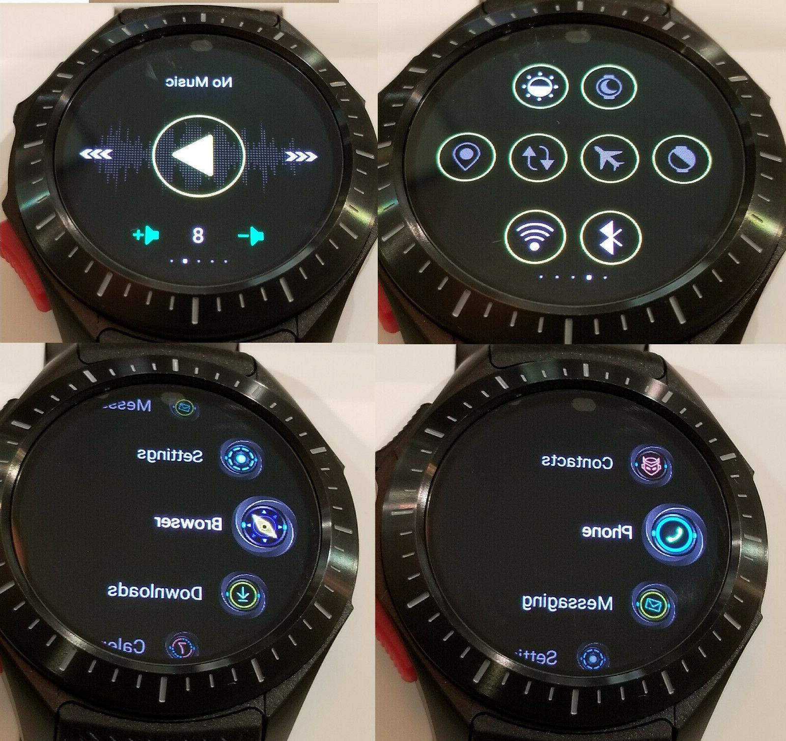 New Watch 3G GSM SIM GPS 1GB 12GB Heart WiFi