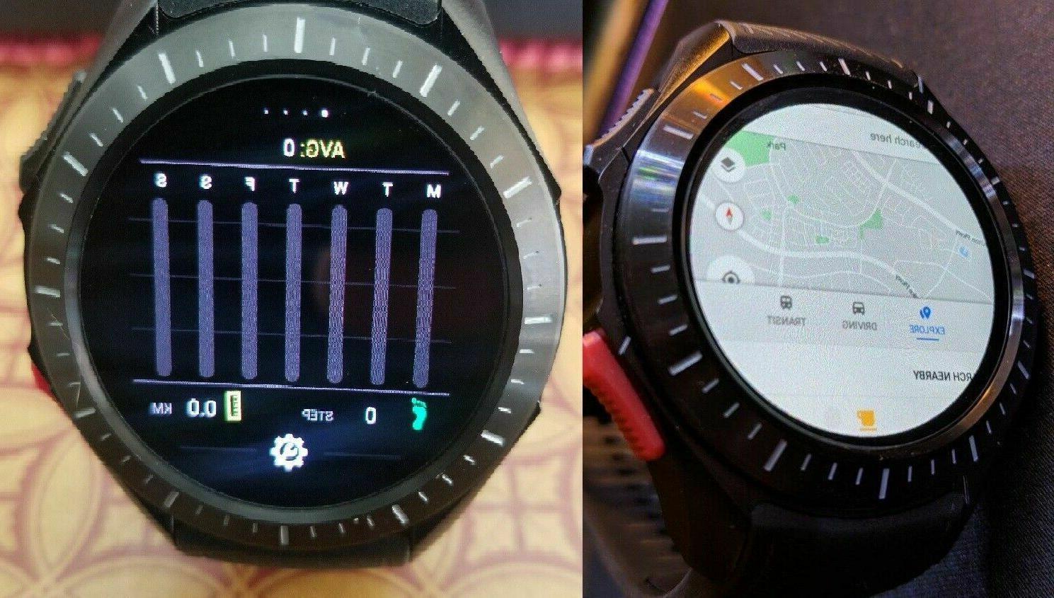 New Watch GSM SIM GPS 1GB Heart WiFi