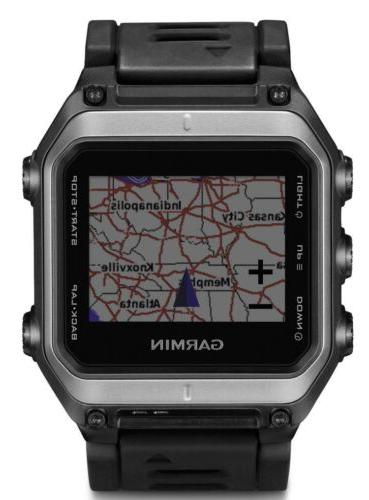 New GPS Silver/Black
