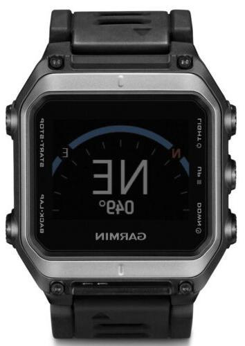 New Epix GPS Mapping Watch Silver/Black
