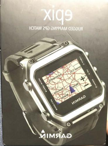 New - Epix GPS Silver/Black 010-01247-00